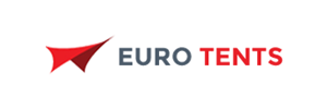 logo of eurotents website whose SEO has done by TopSeoCompany